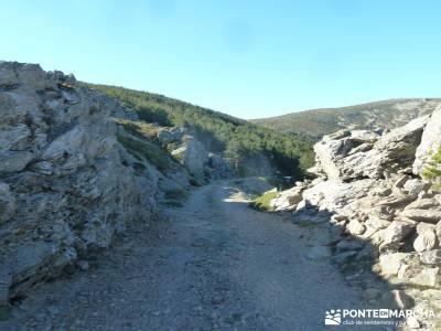 Chorro de San Mamés - Montes Carpetanos  -- senderismo;actividades de ocio y tiempo libre senderism
